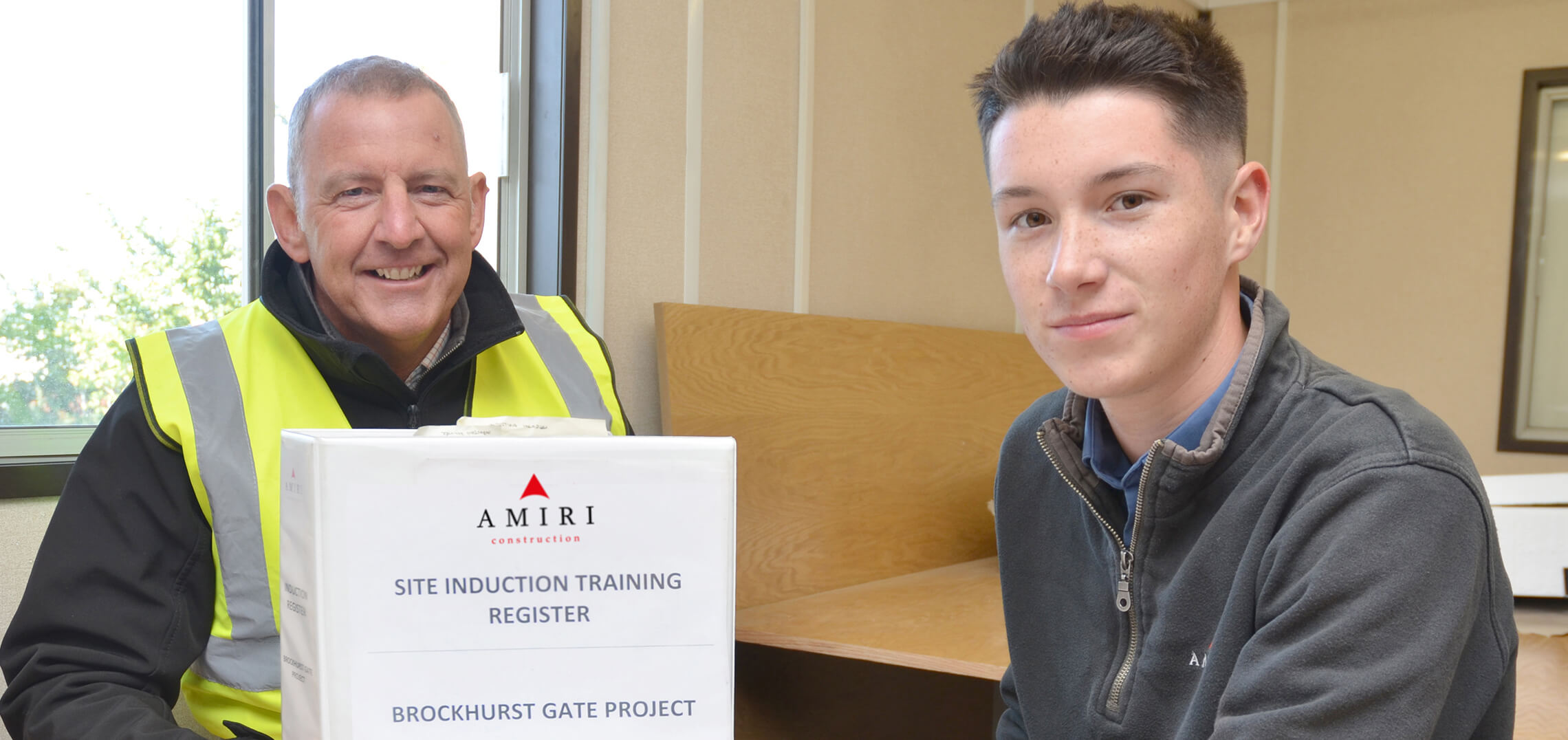 Dan tackles Construction Management training